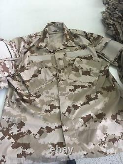Qatar Army Genuine marine specs camouflage bdu camo set L