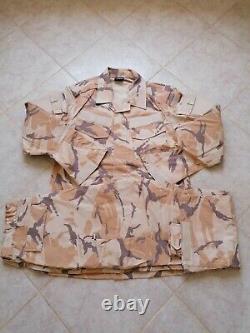 Qatar Army Specs Desert Camouflage bdu camo set uniform