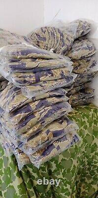 Reproduction Vietnam War Gold Tiger Stripes Camouflage Combat Uniform Set