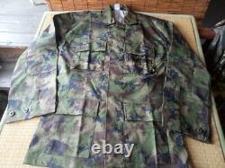Royal Thai Navy Fleet Pixelated Camouflage Pattern Uniform Set Shirt & Pants NEW