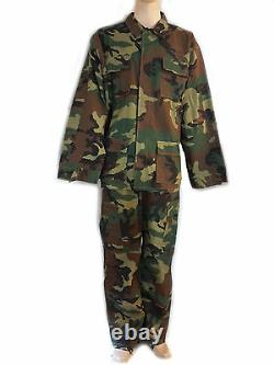 Set Jacket And Trousers Combat Uniform XXL Military Camouflage Softair