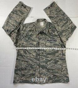 Set US AIR FORCE Mens Camouflage Coat & Trousers Pants Utility Uniform 46R, 36S