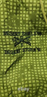 Set of US Army Night Desert Camouflage 1982 Fishtail Parka & 1983 Trousers Pants