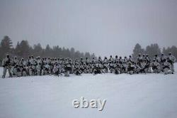 Snow Camo/Snow MARPAT USMC Top/Bottom Small Regular Overwhite Set RARE Camouflag