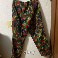 Swiss army real river master camouflage jacket pants set free shipping from Japa