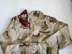 Syrian Army 3 color desrt camouflage bdu camo set uniform