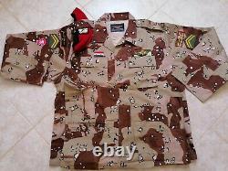 Syrian Army Specs Desert Camouflage bdu camo set uniform