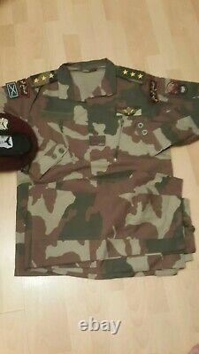 Syrian FSA woodland camouflage bdu camo set uniform military specs