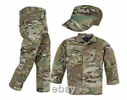Trooper Clothing Kids Multicam Uniform 3 Piece Set XS 2-4