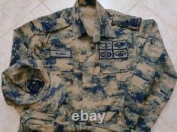 Turkish Airforce Generals digital camouflage uniform bdu camo set