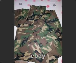 Turkish Army 2010 rare specs ecwcs goretex woodland camouflage uniform set 1