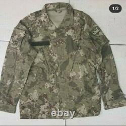 Turkish Army 2021 latest woodland genuine camouflage uniform set camo bdu
