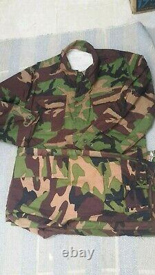 Turkish Army early 90 s red woodland camouflage uniform camo set