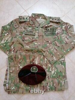 Turkish Army multicam specs camouflage uniform bdu camo set