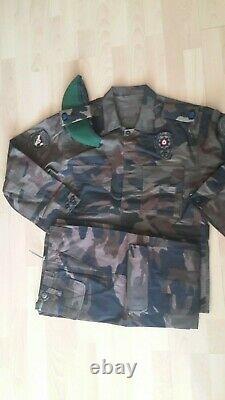 Turkish Army police swatt specs genuine camouflage uniform set camo bdu