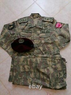 Turkish Army specs captains Digital Camouflage bdu camo set uniform
