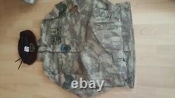 Turkish Army specs genuine Nco camouflage uniform set 48 camo bdu1