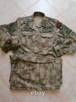 Turkish Army specs nco Digital Camouflage bdu camo set uniform