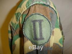 U3B-127 RVN Original Vietnam Camouflage uniform set Captain Ranger Quoc size 38