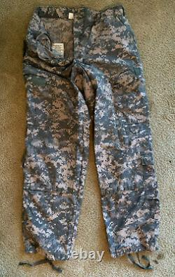 UNIFORM SET US Military Issued Army Combat Camouflage Jacket and Pants