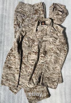 USMC Desert Marpat Camouflage Set Size Medium/Regular Medium/Short Small