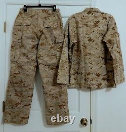 USMC Desert Marpat Camouflage Set Size Medium/Short