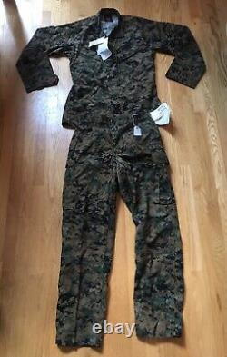 USMC MARPAT Digital Camouflage Uniform Set Small-Long Top, Medium Regular Bottom