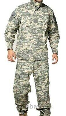 /US ARMY COMBAT ACU UNIVERSAL CAMOUFLAGE, set, SIZE XL