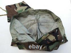 Us Army Usmc Woodland Bdu Camo Camouflage Shirt Trousers Pants Set Medium Nwt