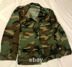 Used Camouflage Set Army Fatigues Size Medium Regular. SOLD AS IS. NO REFUNDS