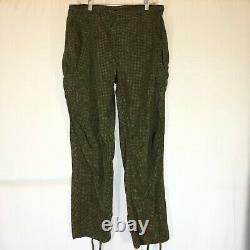 VTG 80's US Army Night Camouflage Desert Fish Tail Parka Jacket Pants Set S/M