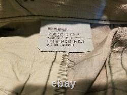 Vintage 01, U. S. Issue WOODLAND CAMOUFLAGE BDU set SHIRT& PANTS Medium Regular