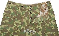WW2 Us Marine Corps Army Pacific Camouflage Jacket & Trousers Uniform Set XXL