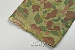 Wwii U. S. Marine Corps P44 Camouflage Uniform Jacket & Trouser Set