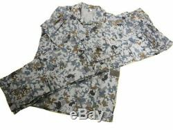 XL size Japan Air Self Defense Force Digital Camouflage Clothing co-ord camo set