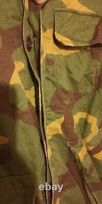 Yugoslavian Army Camouflage Uniform MOL-68 Set JNA SFRJ Yugoslavia