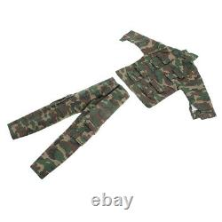 16 Vêtements D'échelle Ensemble Soldats Uniformes De Camouflage Pour 12inch Figure Militaire