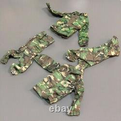 5 Ensembles 1/6 Scale Jungle Camouflage Combat Army Uniforms 12'' Gi Joe Bbi DID Toys