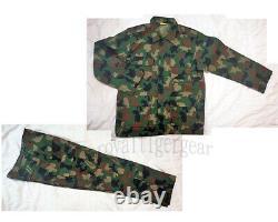 Afrique Nigeria Army Woodland Camo Camouflage Uniform Shirt Pants Bdu Set