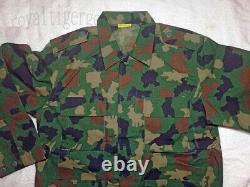 Afrique Nigeria Army Woodland Camo Camouflage Uniforme Pantalon Bdu Set