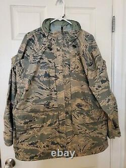 Apecs Parka And Trousers Set Abu Camouflage Size Grand-régulier