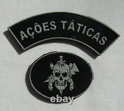 Arme Brésilienne Tactical Actions Unité Sleeve Patch Set Pour Uniforme De Camouflage
