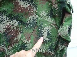 Armée Colombienne Colombie Edr Otan Camo Camouflage Numérique Uniforme Set Cl6 (gb)