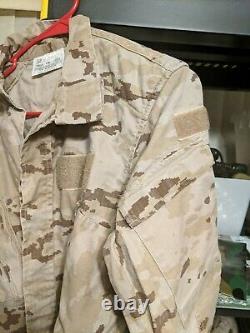 Armée Espagnole Militaire Aridio Digital Camouflage Set Pants/jacket Talla 1n