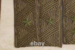 Armee Russe Des Pattes D'épaule Camouflage Olive Broderie Main Générale