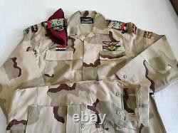 Armée Syrienne 3 Couleurs Dert Camouflage Bdu Camo Ensemble Uniforme