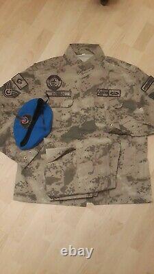 Armée Turque Gendermarie Véritable Uniforme De Camouflage Nco Ensemble XL Camo Bdu