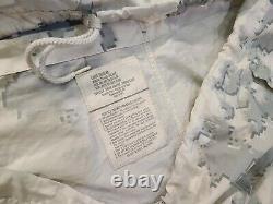 Camo De Neige Marpat Usmc Top/bottom Large Regular Overwhite Set Rare Camouflage