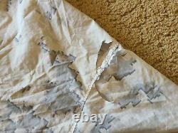 Camo De Neige Marpat Usmc Top/bottom Medium Long Overwhite Set Rare Camouflage