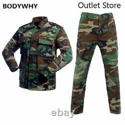 Camouflage Uniforme Tactique Hommes Ensembles De Costumes De Combat De L'armée Ensembles De Vêtements Militaires